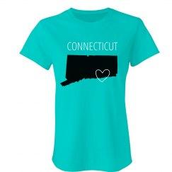 Custom Connecticut Heart