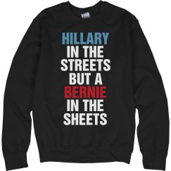 Hillary Streets Bernie Sheets