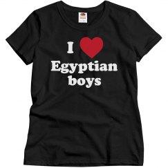 I love Egyptian boys