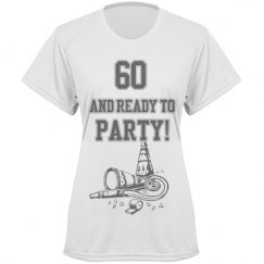 60,and ready to party