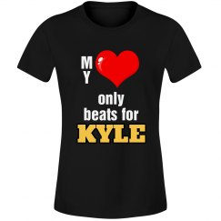 Heart beats for Kyle