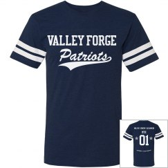 Personalized Blue Crew Tees