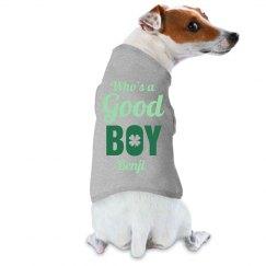 St Patricks Day Puppy