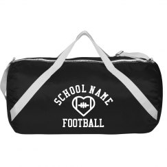 Custom School Football Spirit