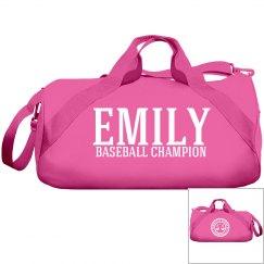 Emily, Baseball Champ