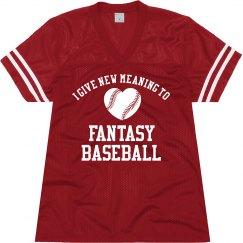 Fantasy Baseball Girl