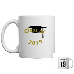 Class of 2019 grad mug