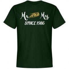 Mr & Mrs since 1986