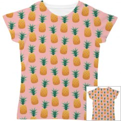 Tropical Pineapple All Over Print