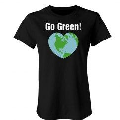 Go Green Heart Tee