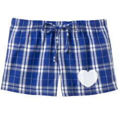 Heart Dotty PJ Shorts