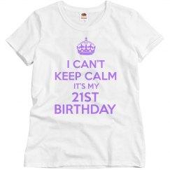 It's My 21th Birthday