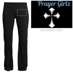 """Prayer Girlz"" Yoga Pants"