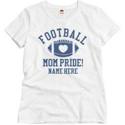 Custom Football Mom Shirt