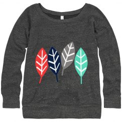womens new leaf sweater