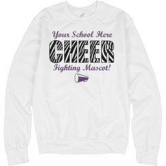Cheer Sweatshirt Template
