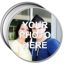 Custom Photo gift tin