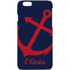 Personalized Anchor Phone Case