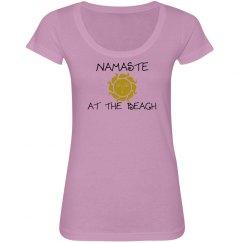 namaste at the beach