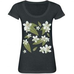 Tropical White Flower
