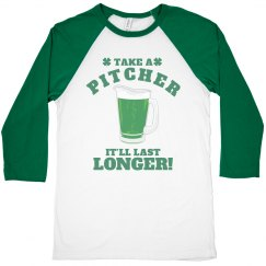 Take A Pitcher St Patricks Bar