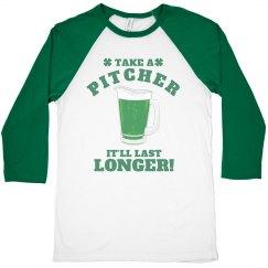 Take A Pitcher St Patricks Bar