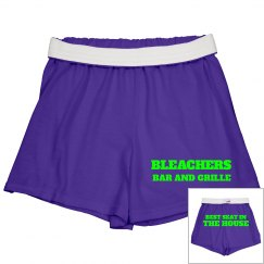 Purple/Lime Shorts