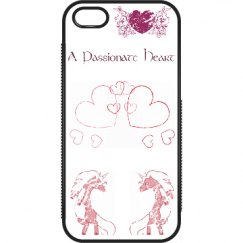 Distressed Heart - Pink