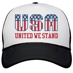 USA America United We Stand Hat