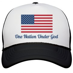 America One Nation Under God Hat