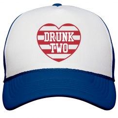 Drunk 2 BFF USA America Hat