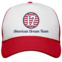Matching July 4th USA Hats