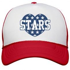 Matching Stars & Stripes Hats