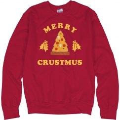 Merry Crustmus Christmas Sweater