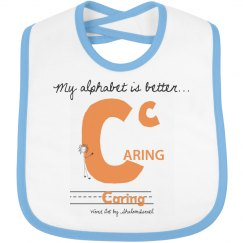 Caring AlphaKey™ Bib