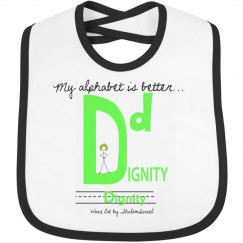 Dignity AlphaKey™ Bib