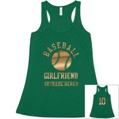 Gold Baseball Girlfriend