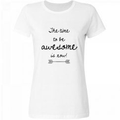 Be Awesome Adult Tee