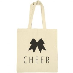 Cute Cheer Custom Name Sport Bag