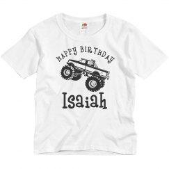Happy Birthday Isaiah!