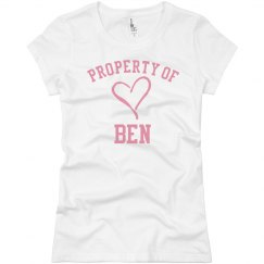 Property of Ben
