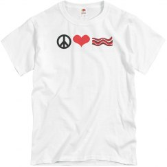 Peace, Love and Bacon