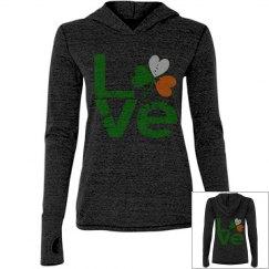 Distressed Irish LOVE