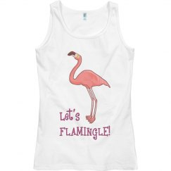 Let's Flamingle Tank