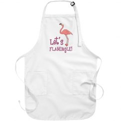 Let's Flamingle Apron