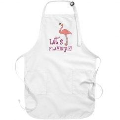 Let's Flamingle Apron