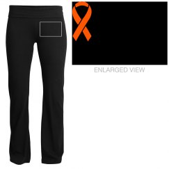 MS ribbon yoga pants