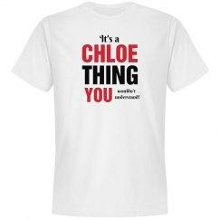 It's a Chloe thing