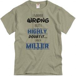 I am a Miller