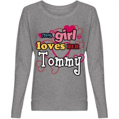 This girl loves Tommy!